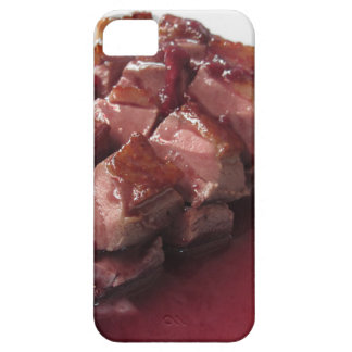 Duck breast on Sangiovese red wine sauce iPhone 5 Cases