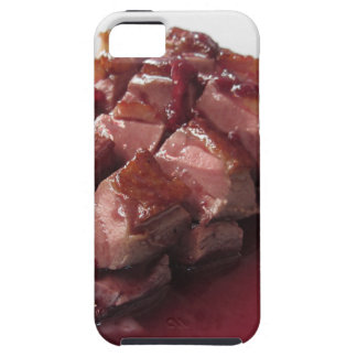 Duck breast on Sangiovese red wine sauce iPhone 5 Cover