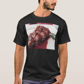 Duck breast on Sangiovese red wine sauce T-Shirt