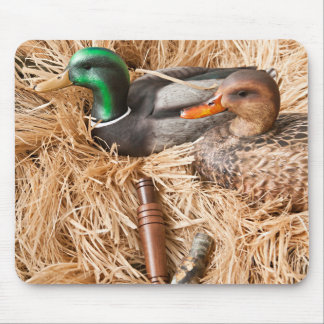Duck Call Mallard Drake Hunting Hunters Mouse Pad