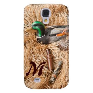 Duck Call Mallard Drake Monogram Samsung Galaxy S4