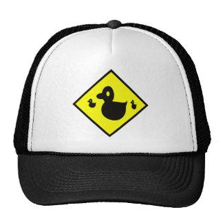 Duck Crossing Sign Trucker Hat