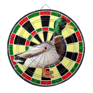 Duck darts board for airgun practise dartboard
