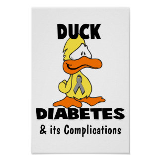 Duck Diabetes, & its Complications Poster