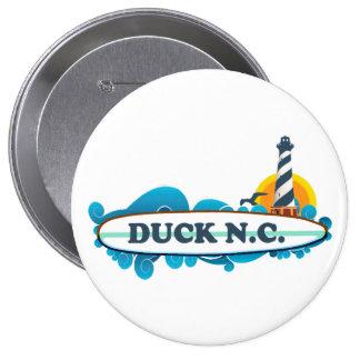 Duck.Duck. 4 Inch Round Button