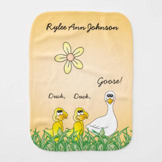 Duck, Duck, Goose Burp Cloth