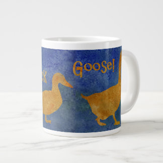 Duck, Duck, Goose. Large Coffee Mug
