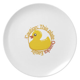 Duck Duck Humor 2 Party Plate