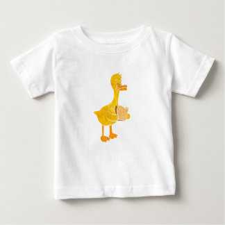duck eating bread. baby T-Shirt