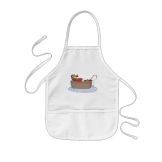Duck Fishing Kids Apron