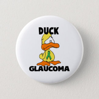 Duck Glaucoma 2 Inch Round Button