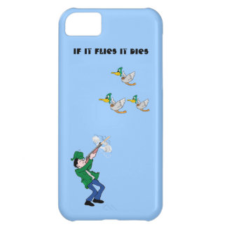 Duck Hunter Shooting Shotgun Cover For iPhone 5C