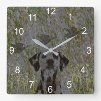 Duck Hunter Wall Clock