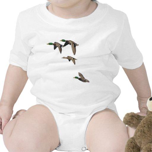 Duck Hunting Mallards in Flight T-shirt