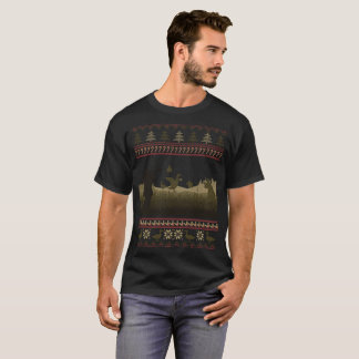 Duck Hunting Ugly Christmas Sweater Funny Holiday