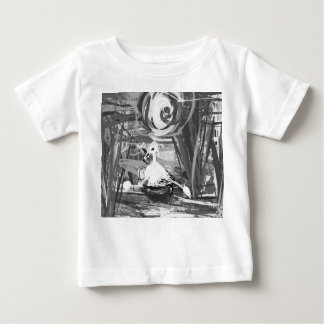 Duck in a boat baby T-Shirt