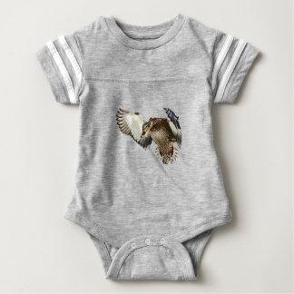 Duck in Flight Baby Bodysuit