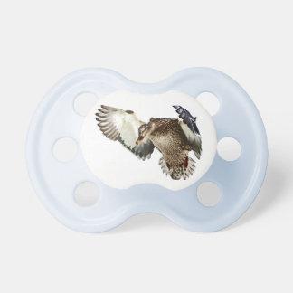 Duck in Flight Pacifier