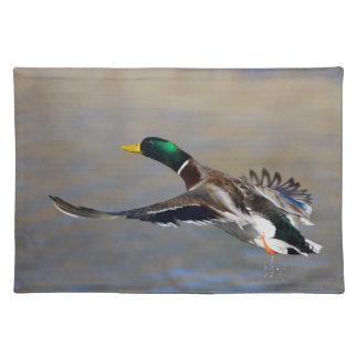 duck in flight placemat