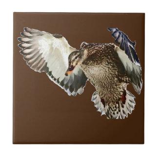 Duck in Flight Tile