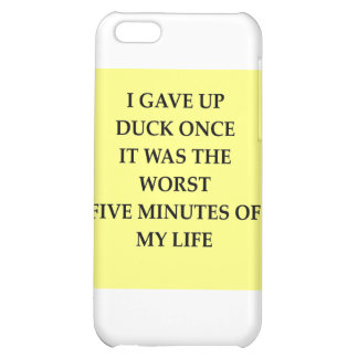 DUCK.jpg iPhone 5C Cover