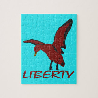 Duck liberty jigsaw puzzle