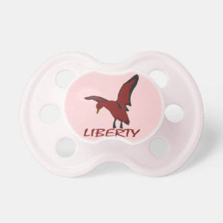 Duck liberty pacifier
