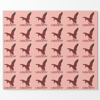 Duck liberty wrapping paper