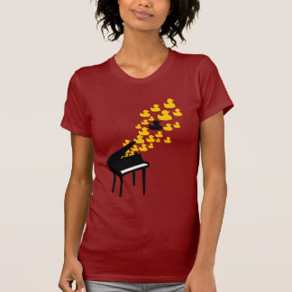 Duck Music (Girlie) T-Shirt