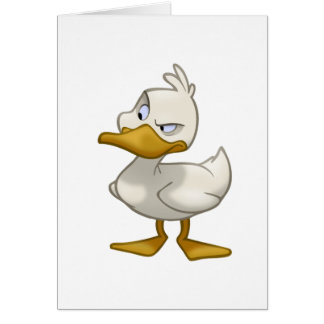 Duck on a Card