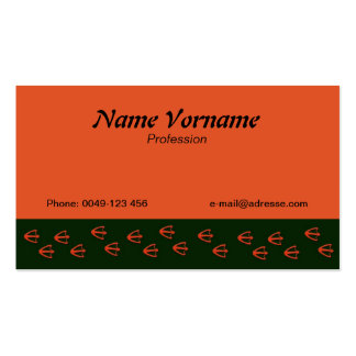 duck pack of standard business cards