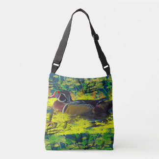 duck pond crossbody bag and tote