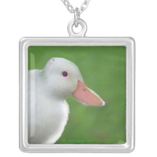 Duck Rabbit illusion pendant