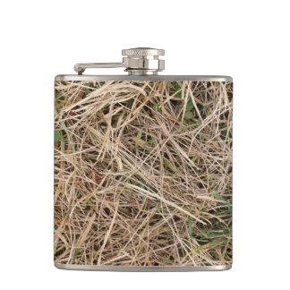 Duck Reeds Camo Hip Flask