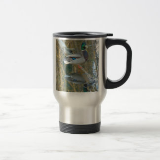 Duck Reflected Travel Mug