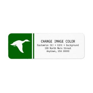 Duck - Return Address Label