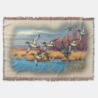 Duck Season Throw Blanket