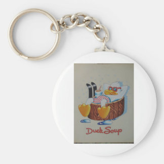"""Duck Soup"" Keychain"