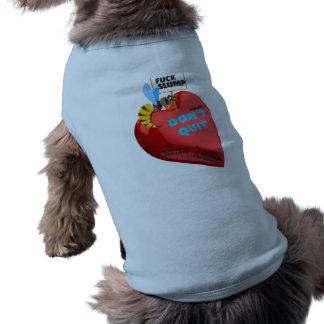 Duck Stump doggy shirt, semi-political Doggie Shirt