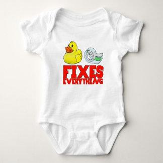 Duck tape baby bodysuit