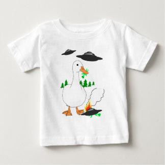 Duck vs. Aliens! Baby T-Shirt