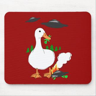Duck vs. Aliens Mouse Pad