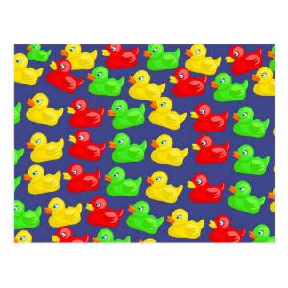 Duck Wallpaper Postcard
