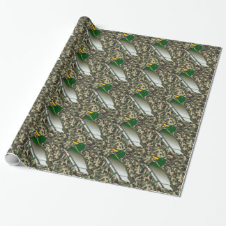 Duck Woodland Camo Wrapping Paper