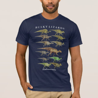 Duckbill hadrosaur Dinosaur Shirt Gregory Paul