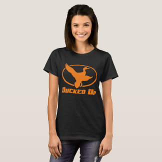 Ducked Up Apparel Duck Hunting T Shirt Blind Call