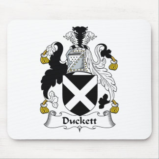 Duckett Family Crest Mouse Pad