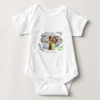 DUCKLING DUCK CHICKEN photo Jean Louis Glineur Baby Bodysuit