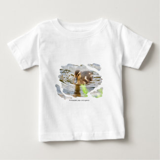 DUCKLING DUCK CHICKEN photo Jean Louis Glineur Baby T-Shirt