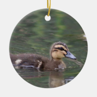 Duckling ornament